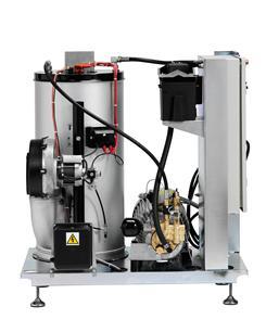 Мойка высокого давления с нагревом воды SOLAR BOOSTER 7-58D