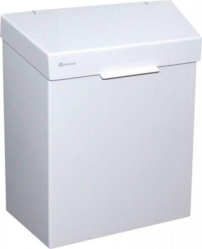 """Корзина для мусора эмалированная """"MERIDA STELLA WHITE"""" 4,5 л фото, купить в Липецке   Uliss Trade"""