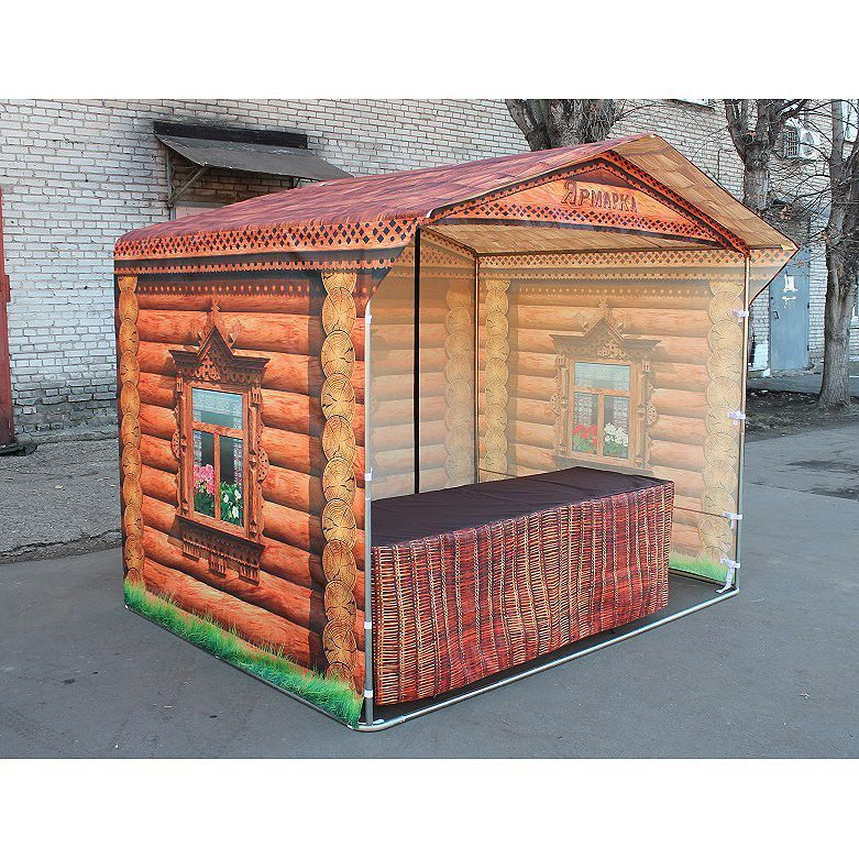 Палатка торговая «ИЗБУШКА» фото, купить в Липецке   Uliss Trade