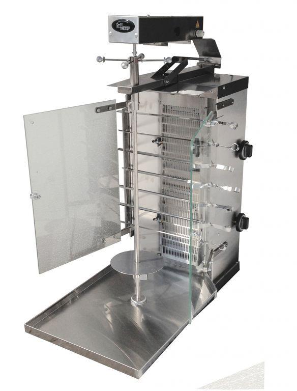Шаверма газовая Ф2ШмГ (с мотором и стеклянным экраном)