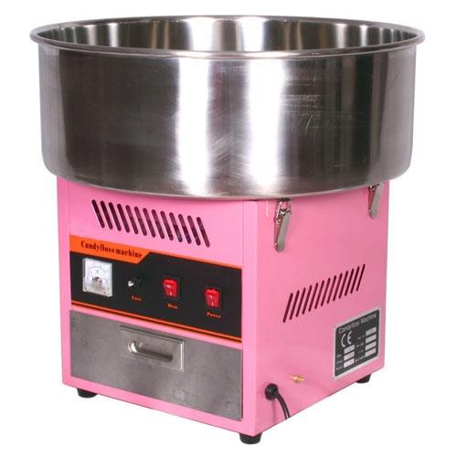 Аппарат для приготовления сахарной ваты STARFOOD (диам.520 мм) розовый фото, купить в Липецке | Uliss Trade