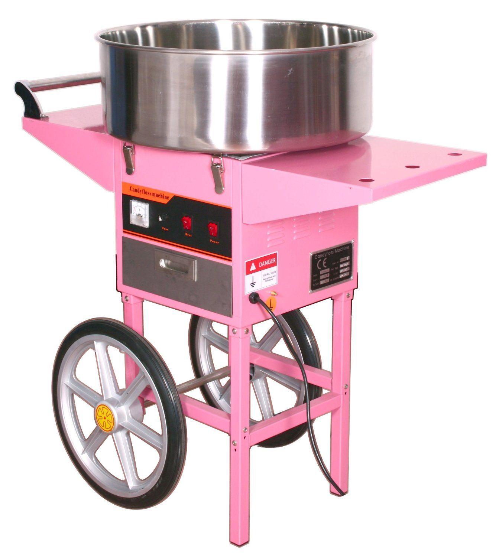 Аппарат для приготовления сахарной ваты STARFOOD с тележкой  (диам.720мм) фото, купить в Липецке | Uliss Trade