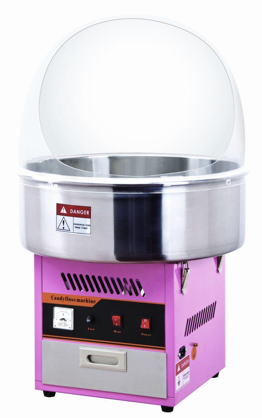 Аппарат для сахарной ваты с куполом ET-MF01 (VIATTO) фото, купить в Липецке | Uliss Trade