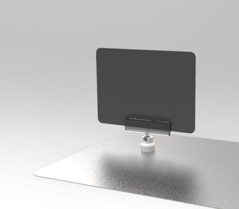 Ценникодержатель на магнитном держателе MAG-CLIP