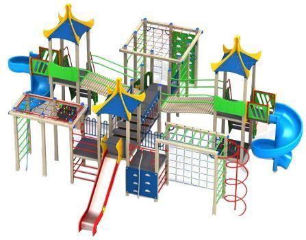 Игровой комплекс тип 2 фото, купить в Липецке | Uliss Trade