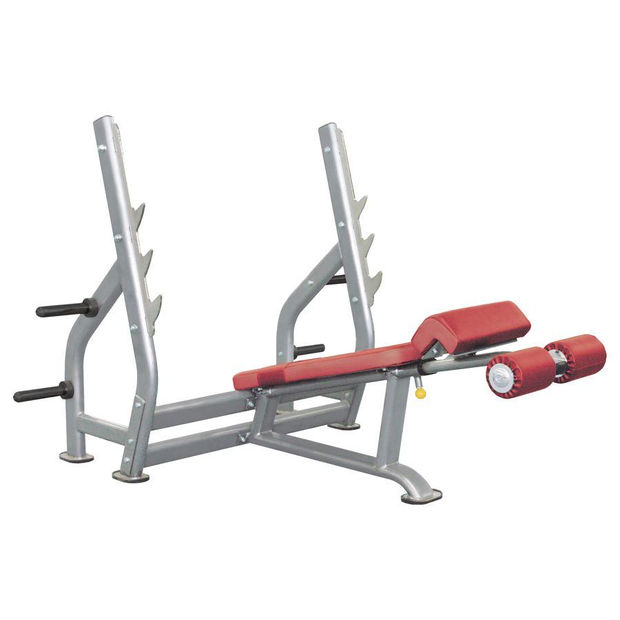 IT7016 - Олимпийская скамья с отрицательным наклоном фото, купить в Липецке | Uliss Trade