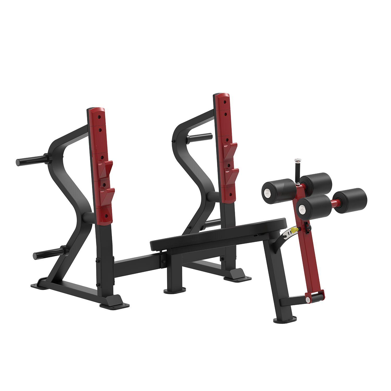 SL7030 - Олимпийская скамья с отрицательным наклоном для жима фото, купить в Липецке | Uliss Trade