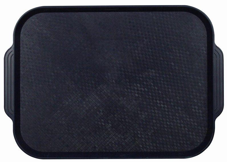 Поднос столовый из полистирола 450х355 мм темно-синий фото, купить в Липецке | Uliss Trade