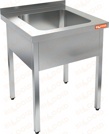 Ванна моечная односекционная HICOLD НСО1М-7/7Б фото, купить в Липецке | Uliss Trade