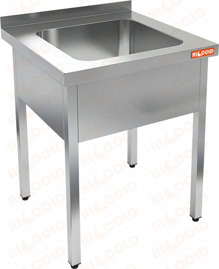Ванна моечная цельнотянутая односекционная HICOLD НСО1М-5/6Б фото, купить в Липецке | Uliss Trade