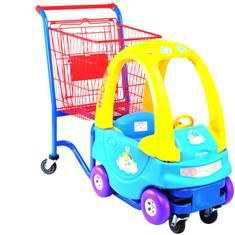 Тележка-автомобильчик для супермаркета фото, купить в Липецке   Uliss Trade