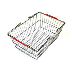 Корзина покупательская металлическая SB20-CR фото, купить в Липецке | Uliss Trade