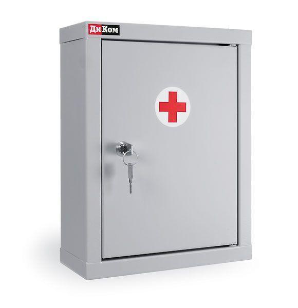 Медицинская металлическая аптечка КД-197А фото, купить в Липецке | Uliss Trade