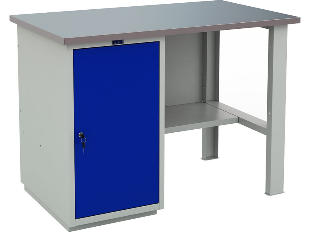 Металлический слесарно-столярный верстак WT120.WD1/F1.000 фото, купить в Липецке | Uliss Trade