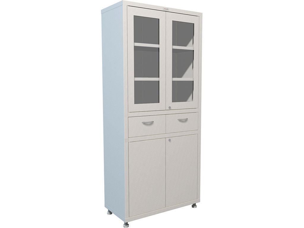 Шкаф для медикаментов двухстворчатый HILFE МД 2 1780 R-1 фото, купить в Липецке   Uliss Trade