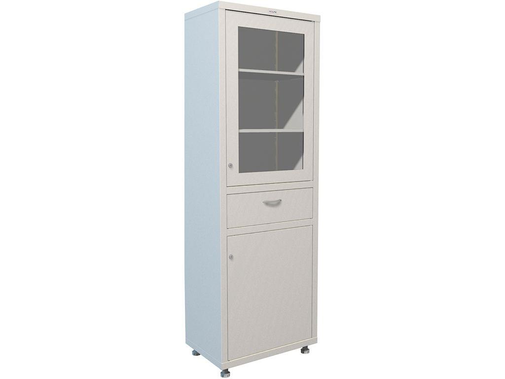 Шкаф для медикаментов одностворчатый HILFE МД 1 1760 R-1 фото, купить в Липецке | Uliss Trade