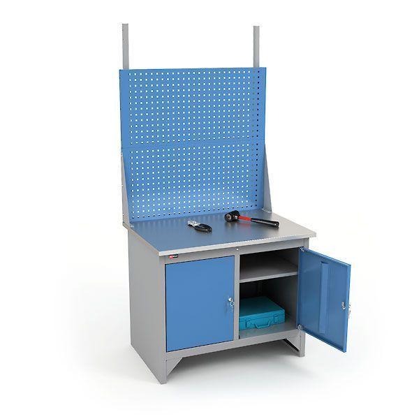Верстак ВЛ-К-100-ЦФ + Экран ВЛ-100-Э2 фото, купить в Липецке | Uliss Trade