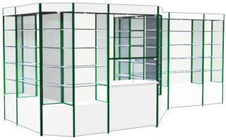 Торговые витрины серии СТЛ и В 2