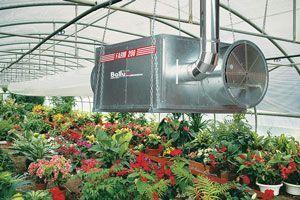 Подвесные теплогенераторы непрямого нагрева на дизельном топливе Ballu-Biemmedue серии Arcotherm FARM Oil