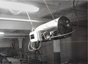 Подвесные теплогенераторы прямого нагрева на природном газе серии Arcotherm GA/N