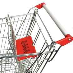 Тележка покупательская STA090-BX-MALL фото, купить в Липецке | Uliss Trade