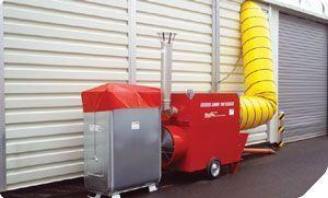 Мобильные теплогенераторы непрямого нагрева на сжиженном газе серии Arcotherm JUMBO