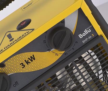 Электрические тепловые пушки Ballu серии Master