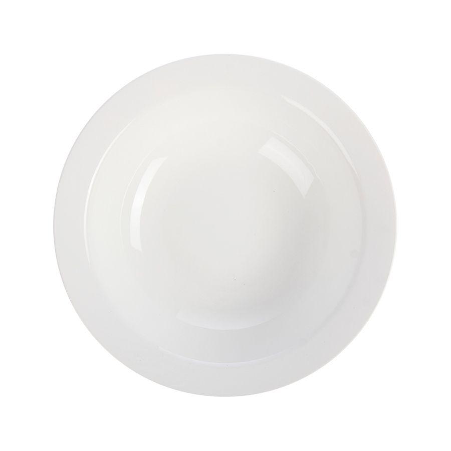 Миска-тарелка глубокая 350 мл фаянс фото, купить в Липецке   Uliss Trade