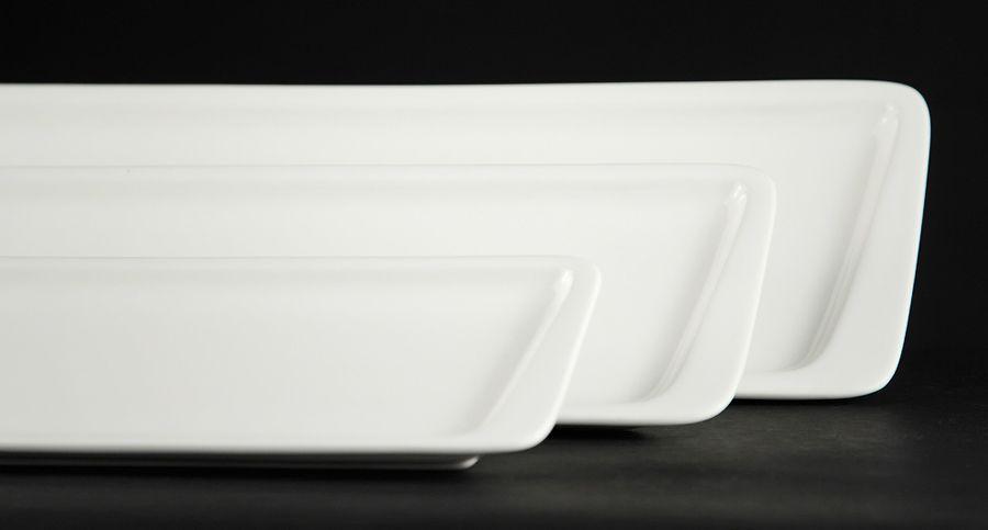 Блюдо узкое прямоугольное «Sam&Squito» 250х75 мм