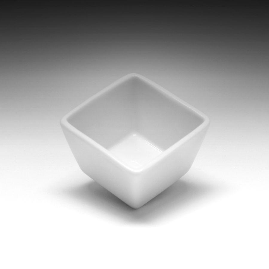 Емкость глубокая квадратная для соуса «CaBaRe» 50 мл