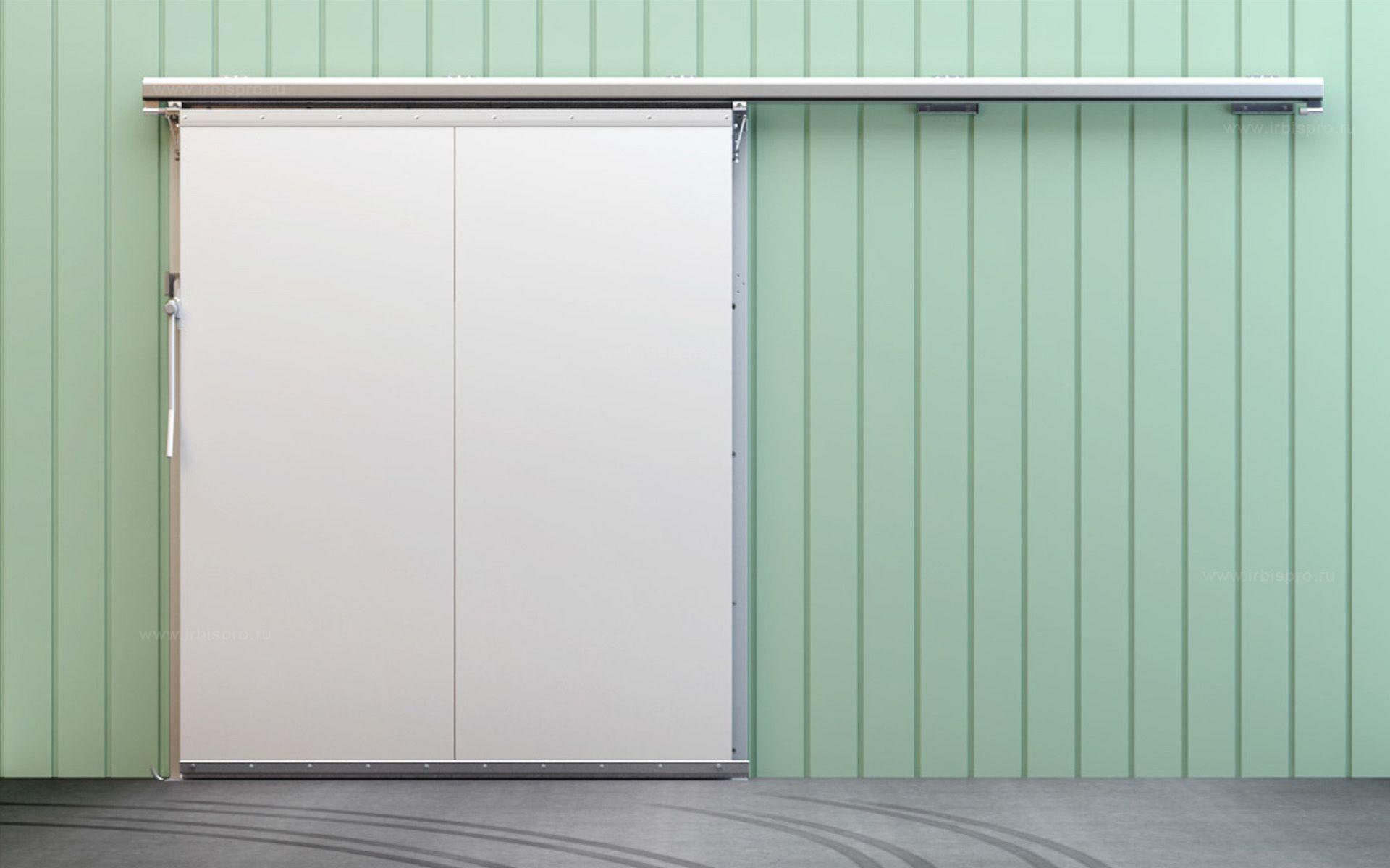 Откатные холодильные двери коммерческой серии