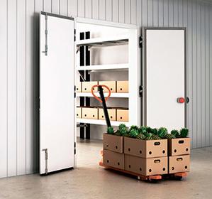 Распашные двухстворчатые холодильные двери коммерческой серии фото, купить в Липецке   Uliss Trade