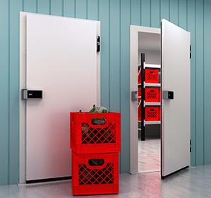 Распашные холодильные двери общего назначения фото, купить в Липецке   Uliss Trade