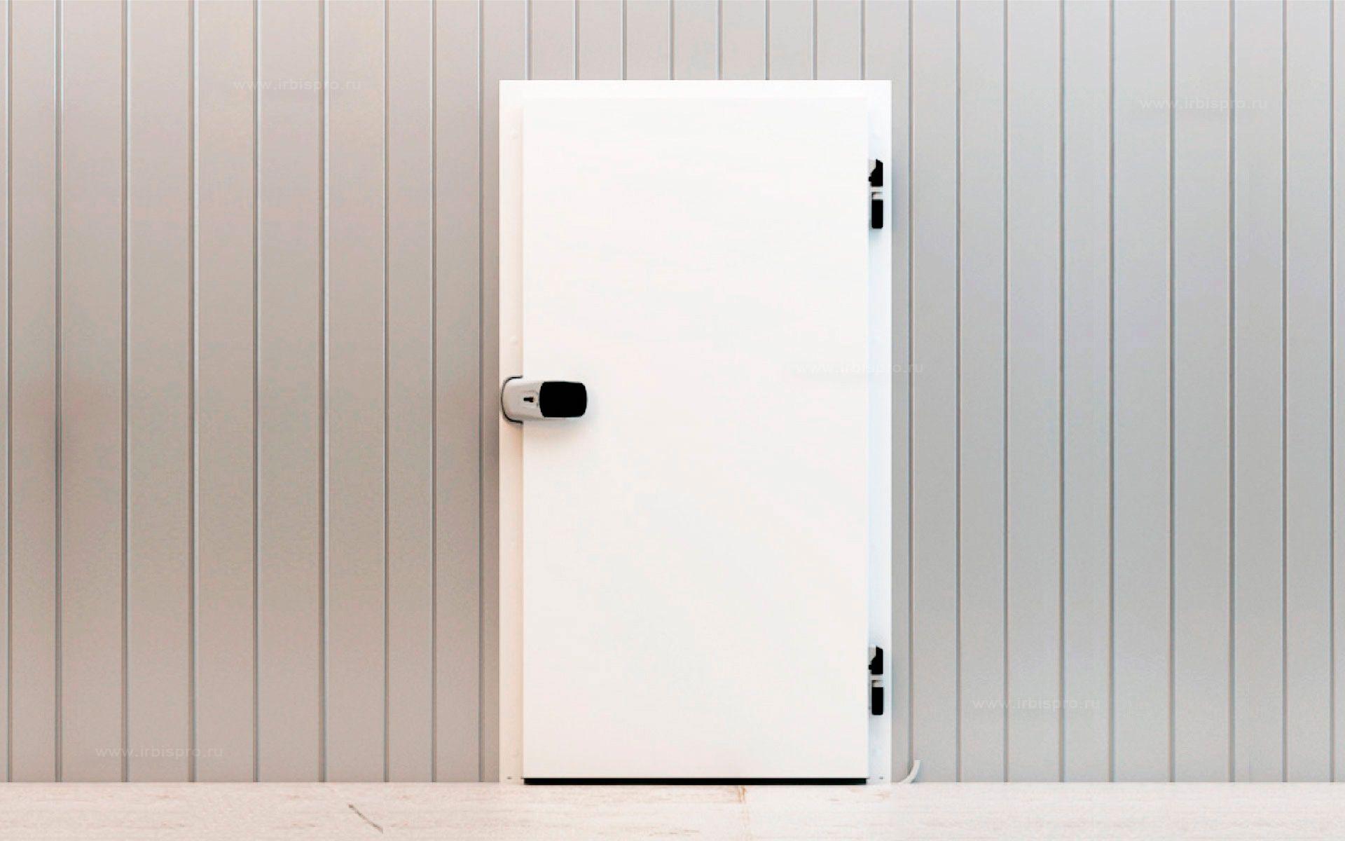 Распашные одностворчатые холодильные двери коммерческой серии