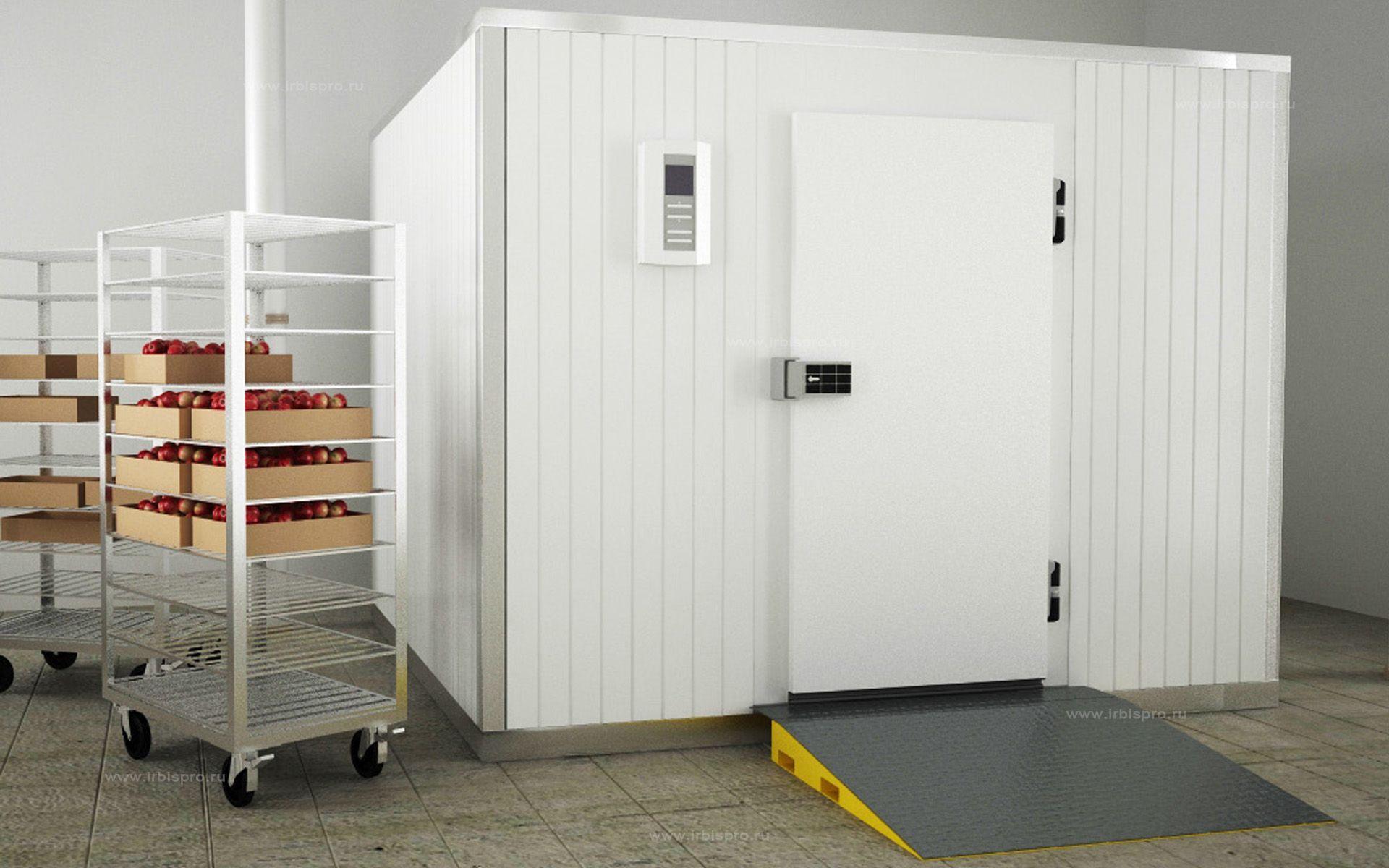 Распашные холодильные двери с утепленным блоком общего назначения