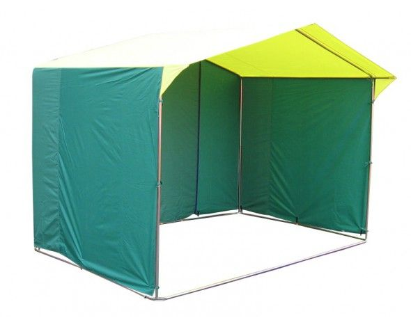Торговая палатка «Домик» 2,5 x 2 из квадратной трубы 20х20 мм