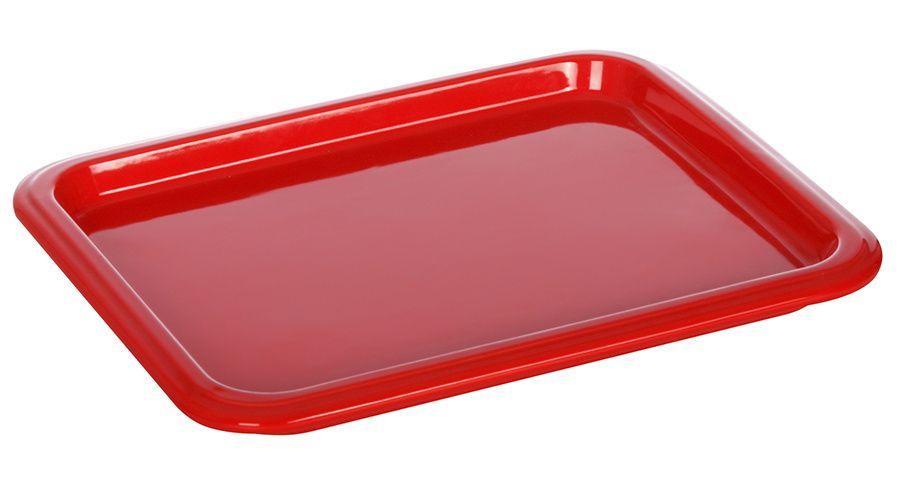 Гастроемкость керамическая «Corone» GN 1/2 330х268х24 мм красная фото, купить в Липецке | Uliss Trade
