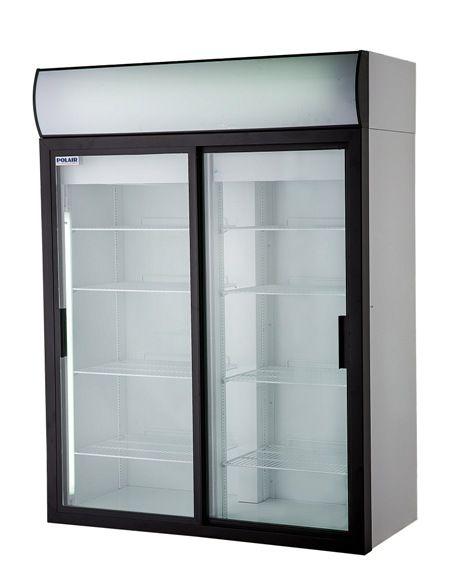 Холодильный шкаф со стеклянными дверьми POLAIR Standard DM114Sd-S фото, купить в Липецке | Uliss Trade