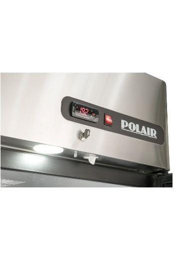 Холодильный шкаф из нержавеющей стали POLAIR CM107-Gk