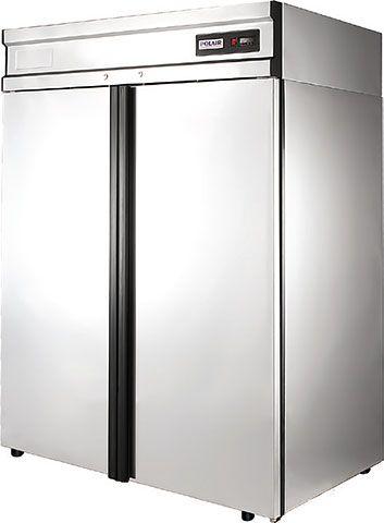 Холодильный шкаф из нержавеющей стали POLAIR CV114-G фото, купить в Липецке | Uliss Trade
