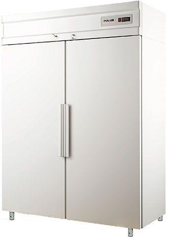 Холодильный шкаф с металлическими дверьми POLAIR CV110-S фото, купить в Липецке   Uliss Trade