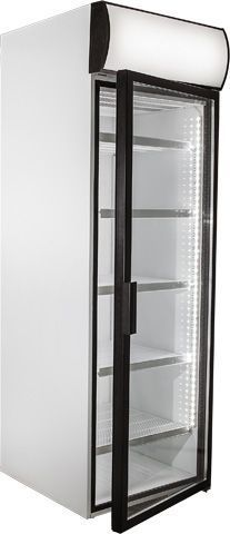 Холодильный шкаф со стеклянными дверьми POLAIR-Pk DM107-Pk фото, купить в Липецке | Uliss Trade
