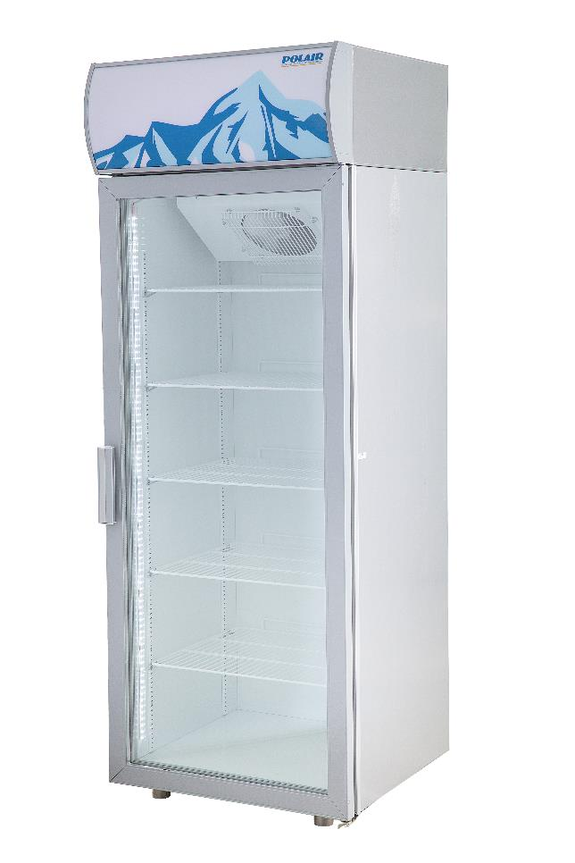 Холодильный шкаф со стеклянными дверьми POLAIR Standard DM105-S версия 2.0 фото, купить в Липецке | Uliss Trade