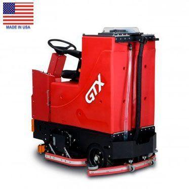 Поломоечно-подметальная машина с цилиндрическими щётками GTX 34C