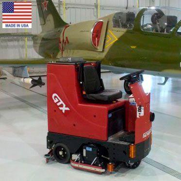 Поломоечно-подметальная машина с цилиндрическими щётками GTX 30C
