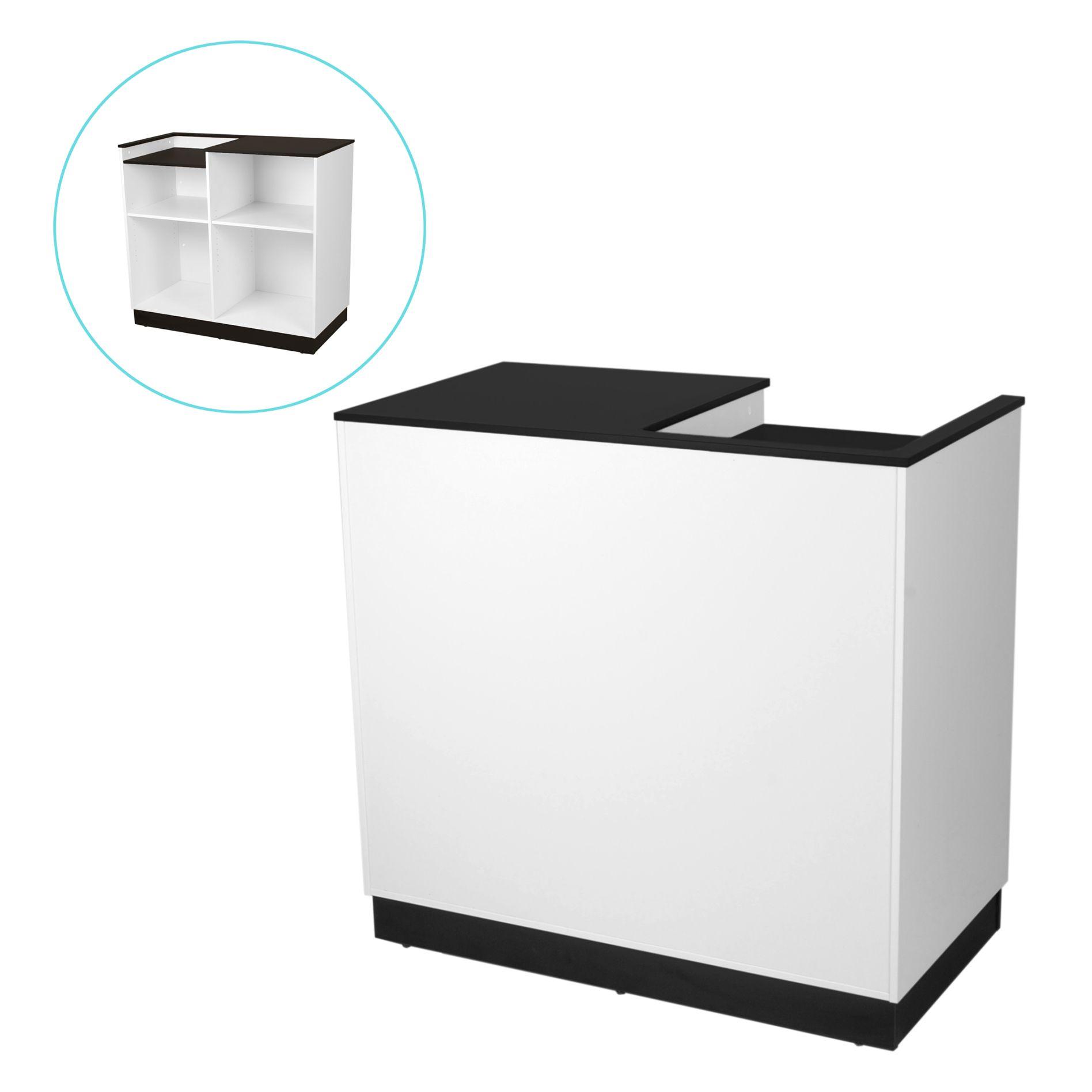 Кассовый стол с вырезом в столешнице CT-02-120611