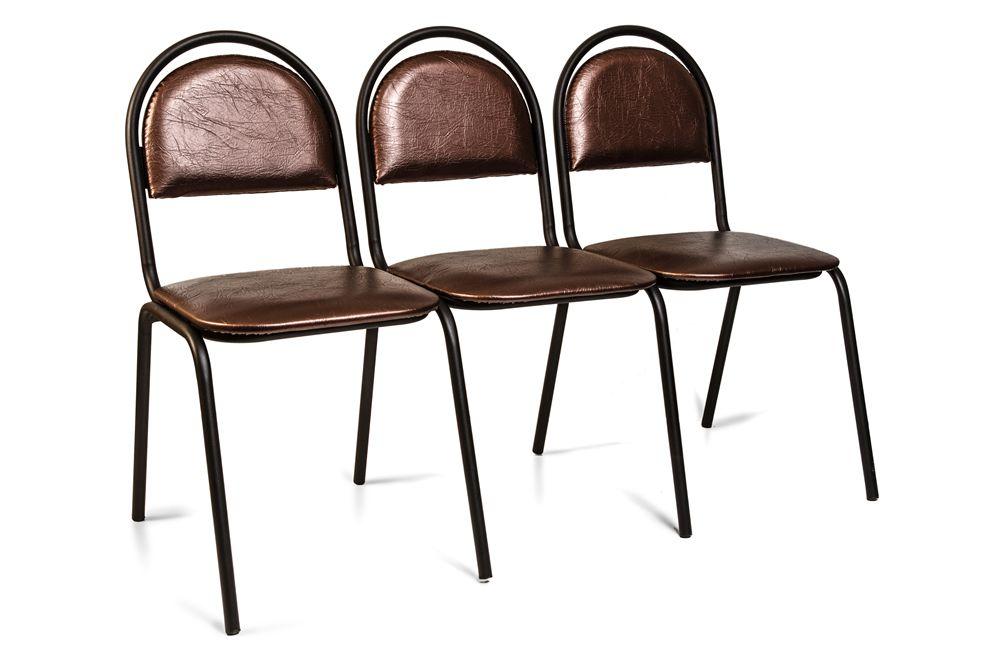 Секция стульев Стандарт трёхместная фото, купить в Липецке   Uliss Trade