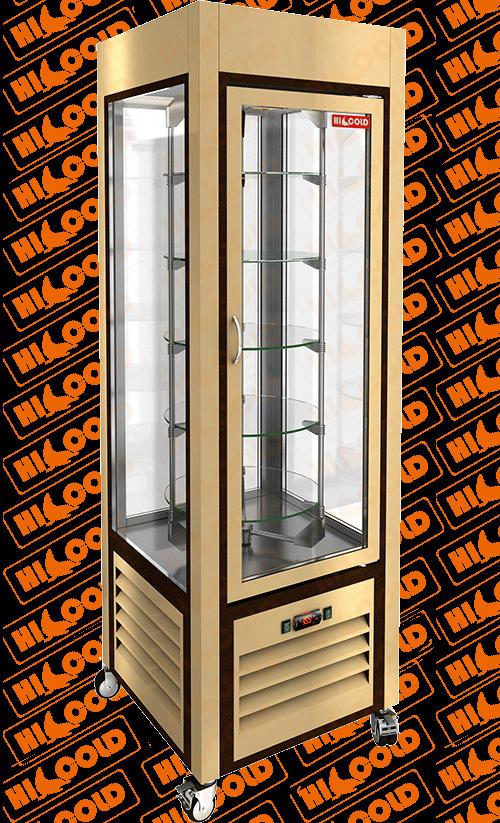 Витрина кондитерская вертикальная HICOLD VRC 350 R Be фото, купить в Липецке   Uliss Trade