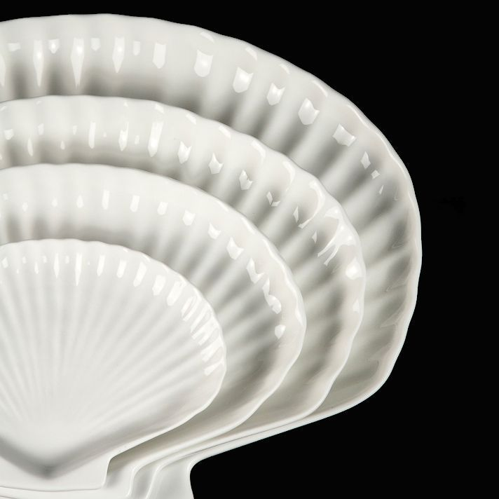 Блюдо раковина «Chan Wave» 250 мм