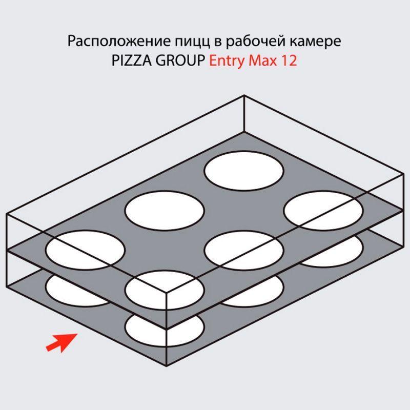 Печь для пиццы PIZZA GROUP Entry Max 12